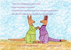 pub réseaux sociaux kangourou